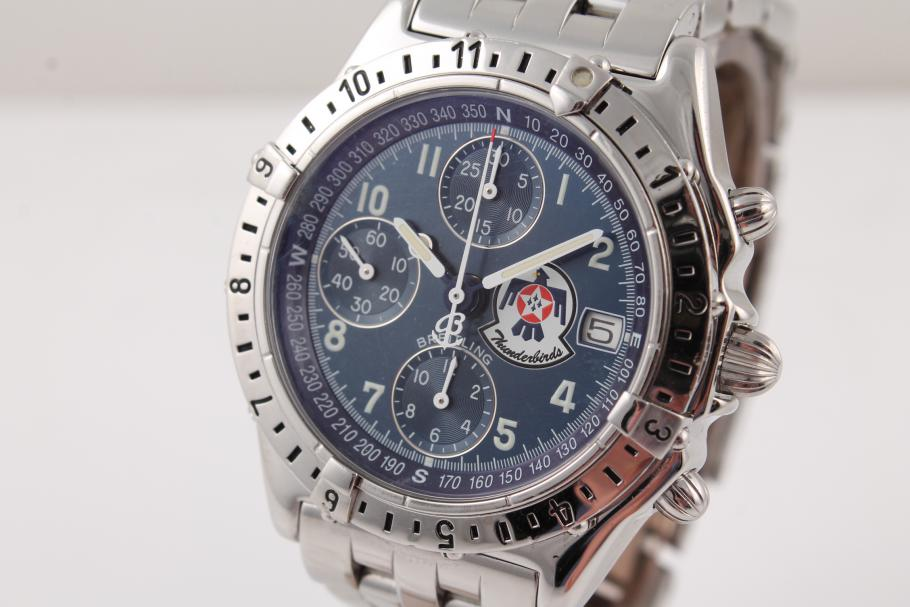 Breitling Chronomat Thunderbird Stahl Limited