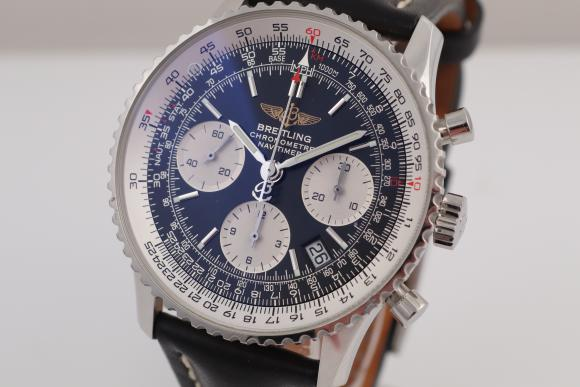 Breitling Old Navitimer with box and papers