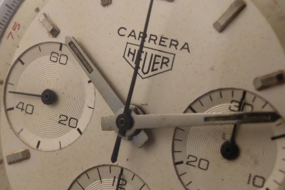 Heuer Carrera Red Tachymeter Ref. 2447T