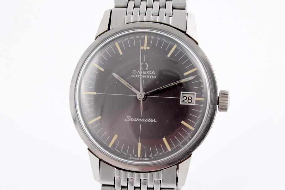 Omega Seamaster stainless steel from the 60ies