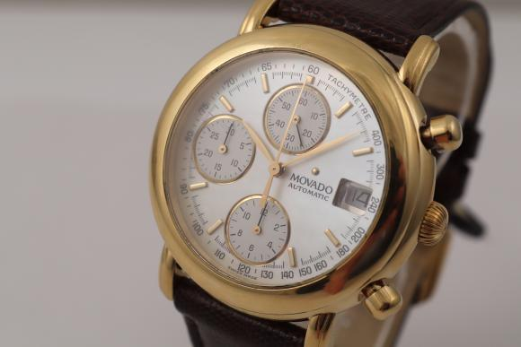 Other brands Movado Chronograph in Gelbgold