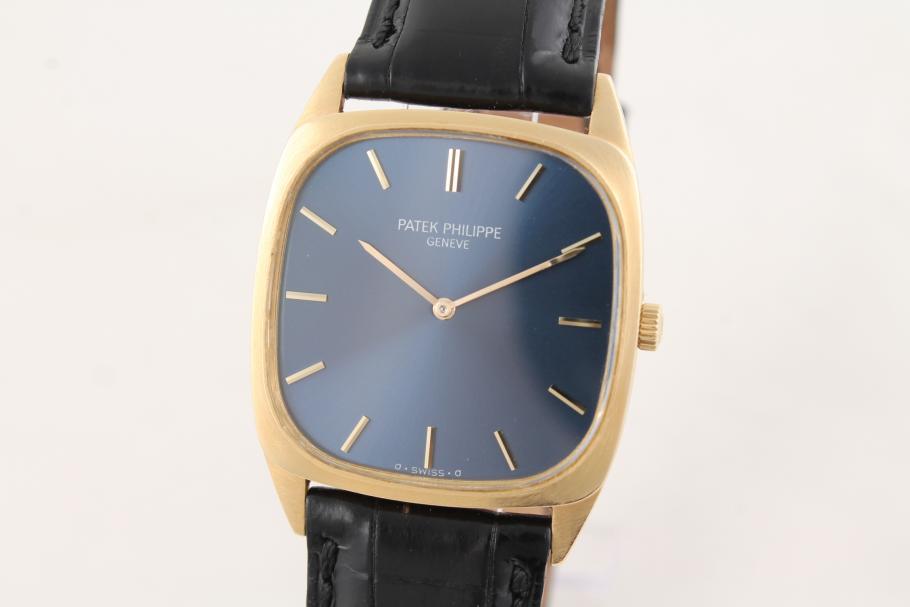 Patek Philippe Gentlemen Watch Ref. 3566 in 18t Yellow Gold
