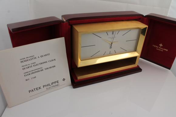 Patek Philippe Table-Clock Ref. 1160 - New-Patek-Service!