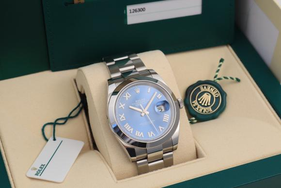 Rolex Blue Datejust 41