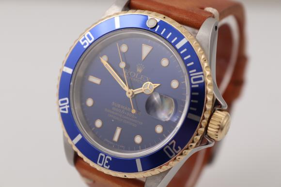 Rolex Blue Submariner in Stahl/ Gold X-Serie
