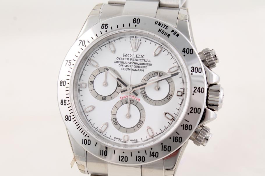 Rolex Cosmograph Daytona white dial, sealed