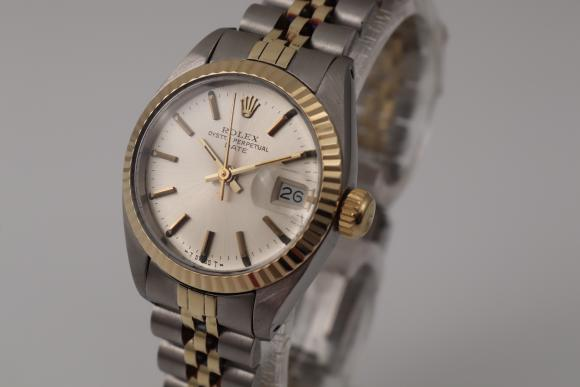 Rolex Date Lady in steel/ gold 26mm