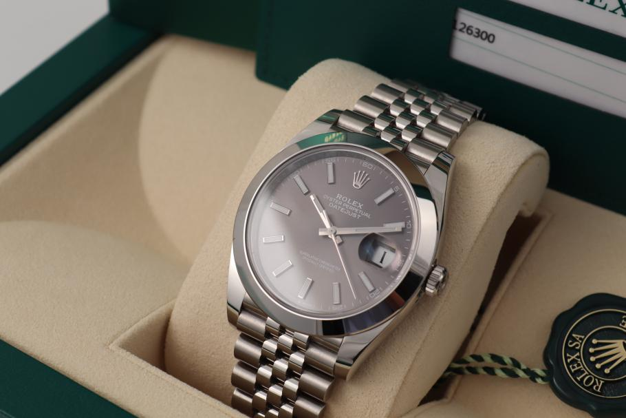 Rolex Datejust 41 Ref. 126300 - May 2020