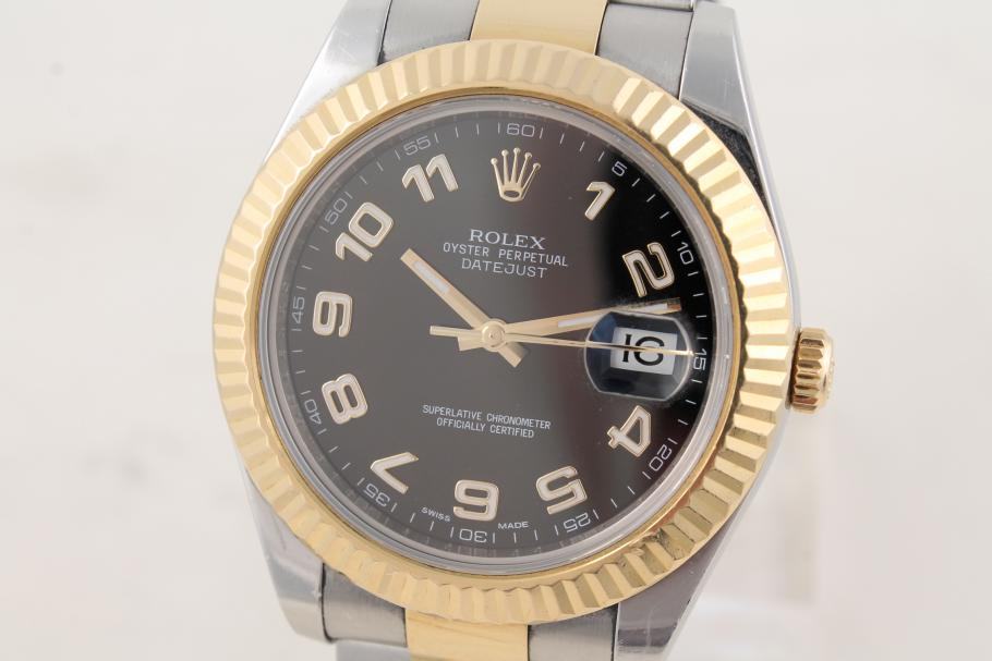 Rolex Datejust II in stainless steel/ gold