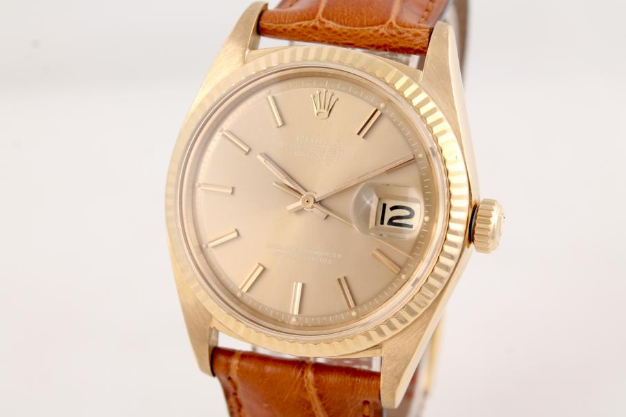 Rolex Datejust Ref. 1601 in 18k Gelbgold
