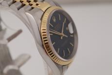 Rolex Datejust Stahl/ Gold Blue 36mm