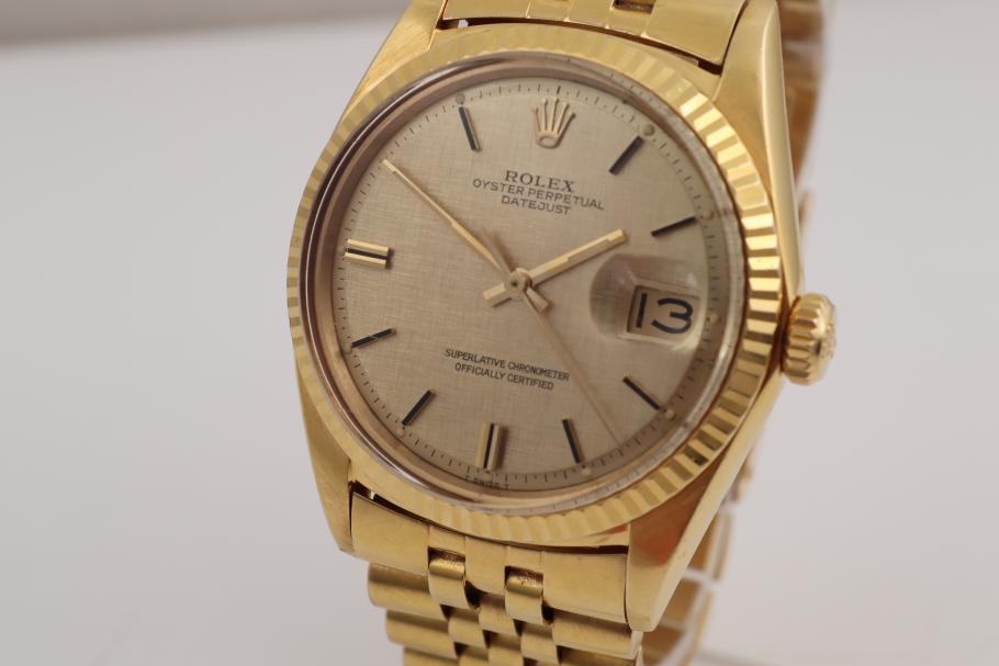 Rolex Datejust Yellowgold 36mm
