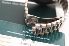 Rolex Day-Date II Whitegold/ Service 2017