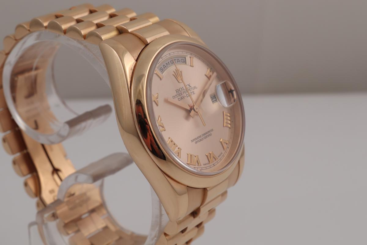 Day Date Ref118205 Pink Gold