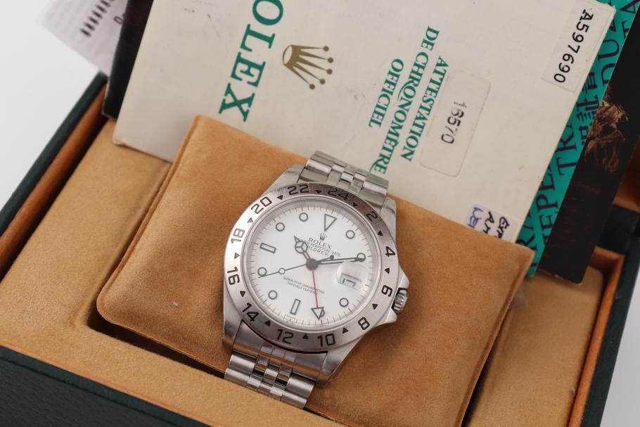 Rolex Explorer II/ Jubilee/ Box und Papiere