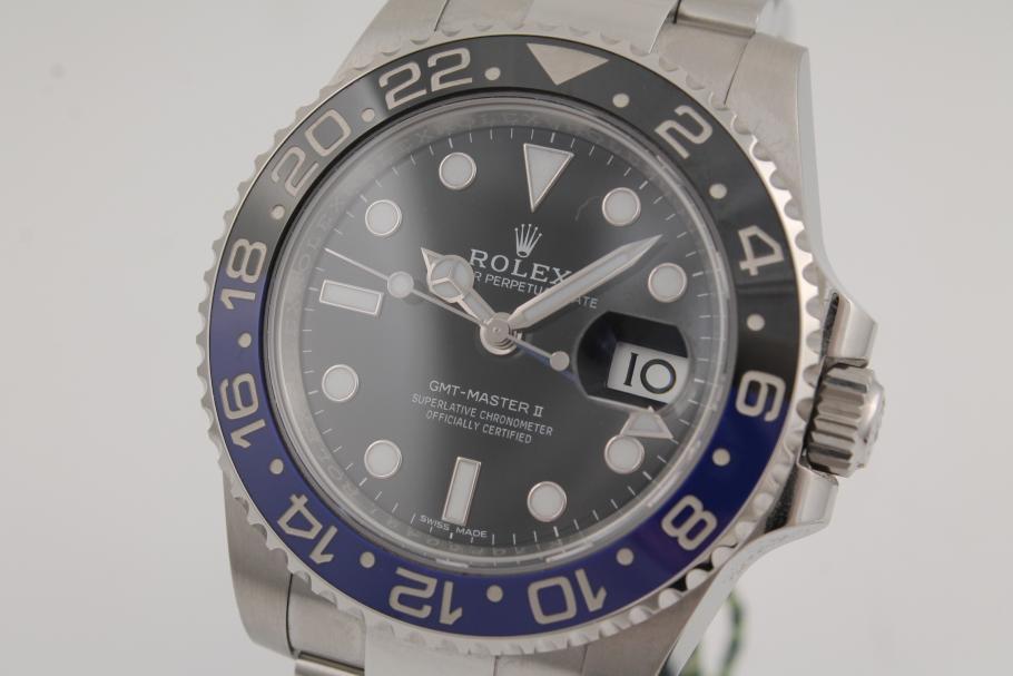 Rolex GMT Master II Ref. 116710BLNR