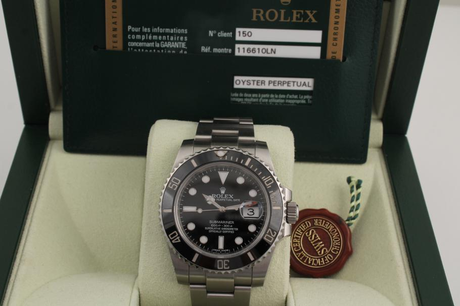 Rolex Submariner Date Ceramic Ref. 116610LN
