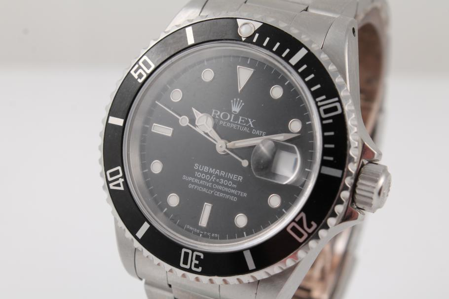 Rolex Submariner Ref. 16610 aus 1994