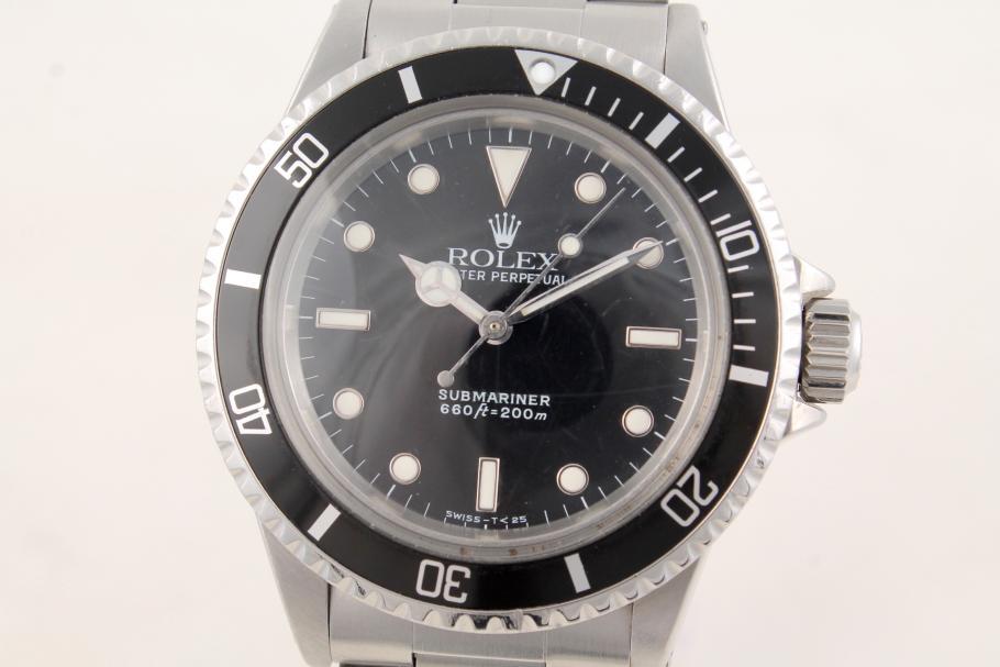 Rolex Submariner no date Ref. 5513