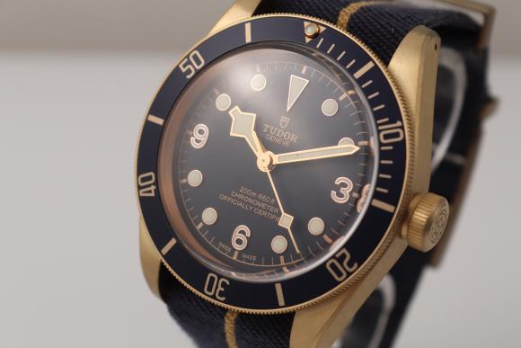 Tudor Black Bay Bronze Bucherer Blue