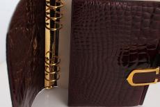 Watch accessories Cartier FILOFAX Kroko/ brown